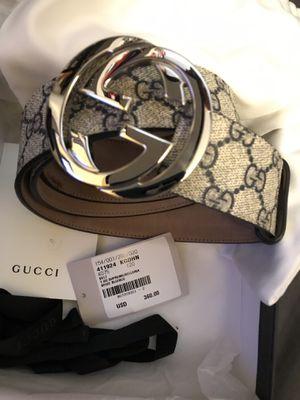 Gucci GG Supreme Belt w/ Buckle for Sale in San Francisco, CA