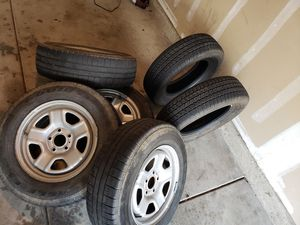 """16"""" 5x4.5 jeep wheels for Sale in Riverside, CA"""