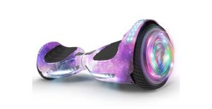 """Flash Wheel Certified Hoverboard 6.5"""" Bluetooth Speaker with LED Light Self Balancing Wheel Electric Scooter - Galaxy for Sale in Tamarac, FL"""