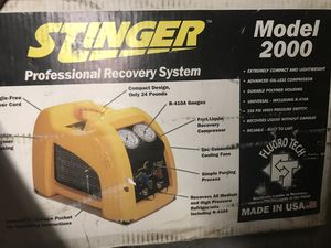 Stinger professional recovery system model 2000 for Sale in Burrillville, RI
