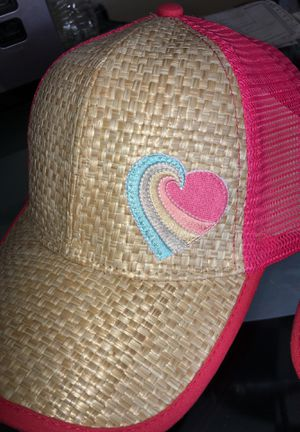 Pink girl women's trucker pink hat new 4 for $15 for Sale in Chula Vista, CA
