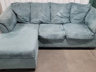 Teal Blue Sectional for Sale in Georgetown,  TX