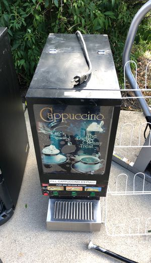 Three flavored cappuccino commercial machine for Sale in Meridian charter Township, MI