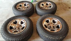 """For Dodge Ram 17"""" rims with tires for Sale in Ferguson, MO"""