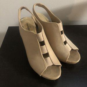 Madden Girl Beige Heels, Size 8 for Sale in Pembroke Pines, FL