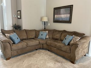 Microfiber sectional for Sale in Murfreesboro, TN