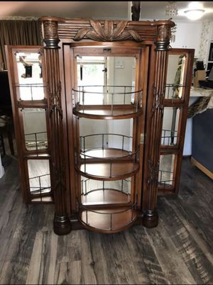 Early 1800's Antique Mahogany Liquor Cabinet for Sale in Wildomar, CA