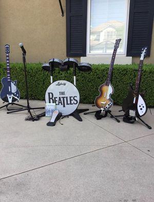 Garage Band Beatles Set for Sale in Fullerton, CA