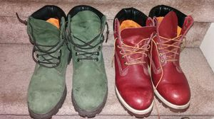 2 Timberland boots size 10 for Sale in Las Vegas, NV