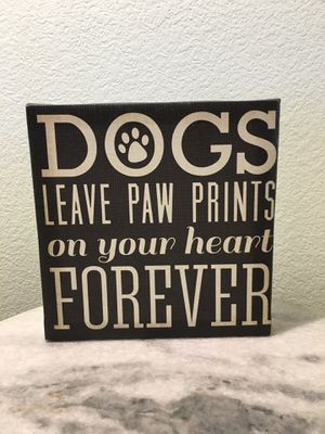 Home decor for dog lovers for Sale in Las Vegas, NV
