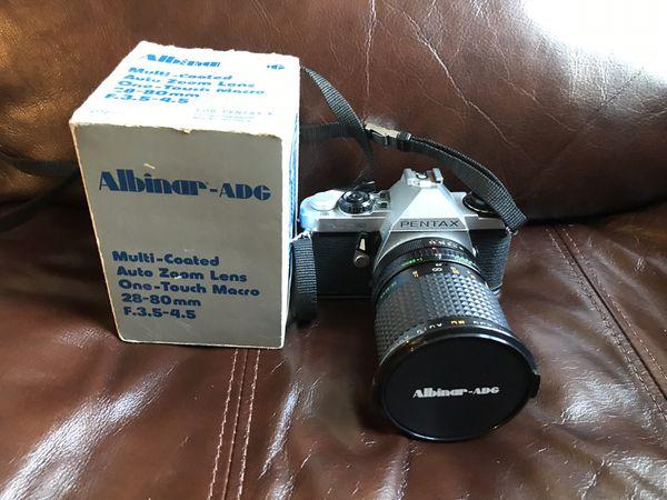 Pentax ME Super 35mm film camera & 28-80mm lens