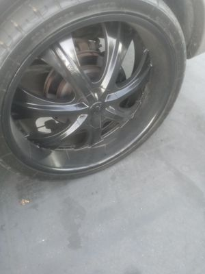 "26"" black rims for Sale in San Diego, CA"