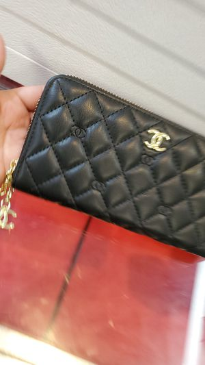 Womens black and gold wallet for Sale in Marietta, GA