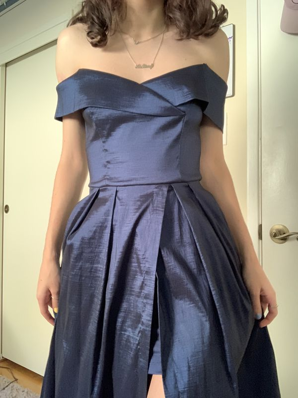 Windsor Navy Blue Prom Dress