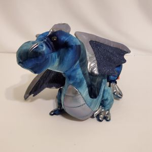 """Douglas The Cuddle Toy Jade the Blue Dragon Velvet Plush Stuffed Animal 16"""" for Sale in Brookfield, IL"""