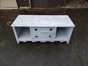 Console table, entertainment center, TV stand 48 wide 21 deep 21 tall for Sale in Renton, WA
