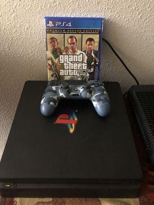 PlayStation 4 1 tb comes with one controller and 1 game in mint condition for Sale in Escondido, CA