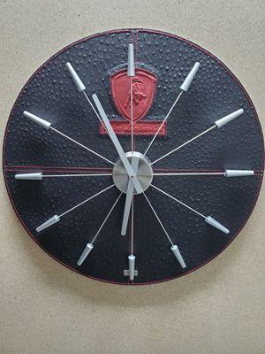 Tonino Lamborghini wall clock. for Sale in Parkland, FL