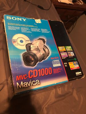 MVC-CD1000; Mavica; Digital Still Camera for Sale in Orlando, FL
