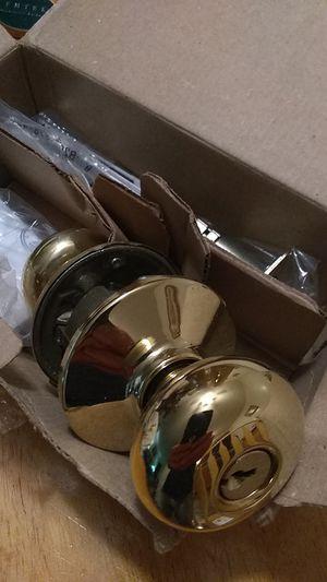 Schlage locking door knob for Sale in Milford, OH