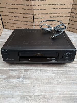 Sony VCR VHS Player for Sale in Fontana, CA
