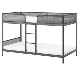 IKEA Tuffing Bunk bed frame Gray for Sale in New Albany, OH