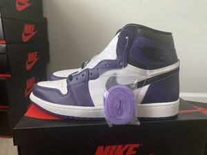 Jordan 1 Court Purple Sz 12 for Sale in Raleigh, NC