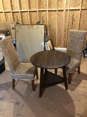 Breakfast table and 2 chairs for Sale in Atlanta, GA