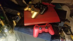 Ps3 super slim games and controllers for Sale in North Bay Village, FL