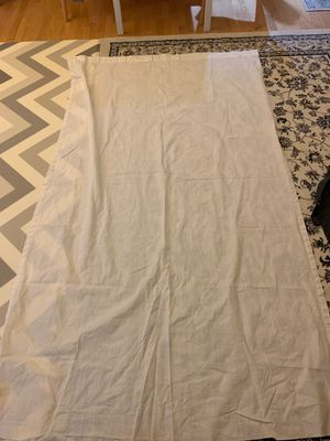 IKEA curtain with a little stain on one sleeve for Sale in Fairfax, VA