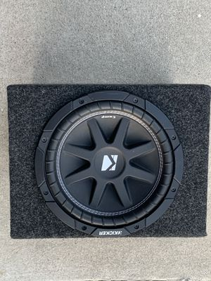 Kick 10 inch Competition subwoofer and amplifier combo for Sale in Orange, CA