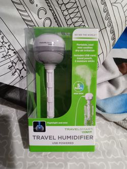 Travel smart Humidifier ,Nightlight and Mist for Sale in Medford,  MA