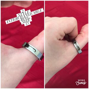 2 Style Sliding Interchangeable Tribal Men's Ring Size 13 From Urban Outfitters for Sale in Bloomington, IL