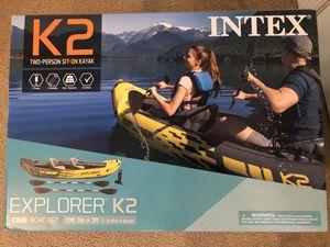 Brand New Intex K2 Explorer Kayak for Sale in Hershey, PA