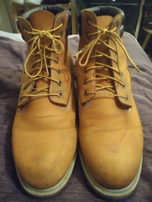 Levis Leather work boots size 13 w for Sale in Saint CLR SHORES, MI