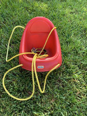 Little Tike secure swing like new! for Sale in Pompano Beach, FL
