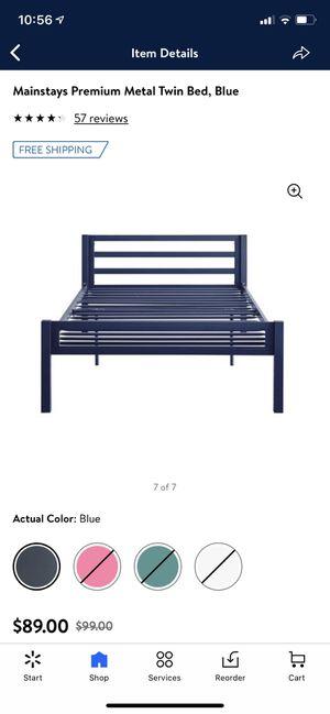 Twin metal bed for Sale in Las Vegas, NV
