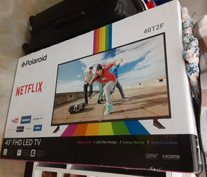 Polaroid TV. 40 inch Brand New. Never out of the box for Sale in Seaford, DE