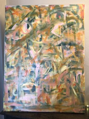 Original abstract oil painting for Sale in Pittsburgh, PA
