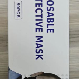 50 Pack 3PLY Black Face Mask for Sale in Ontario, CA