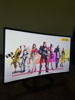 27' LED Curved Monitor 1080p Hdmi for Sale in Davis, CA