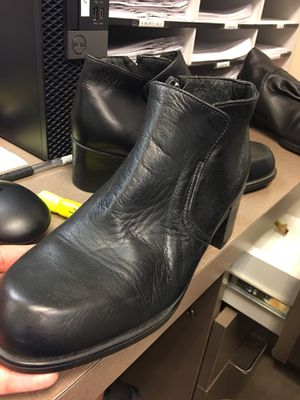 Black leather boots for Sale in Santa Monica, CA