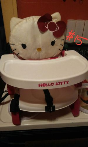 Hello kitty child booster seat for Sale in Columbus, OH