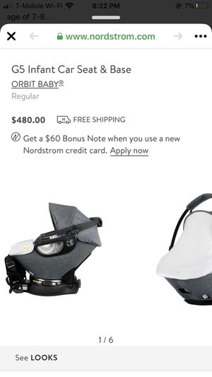 Infant car seat and base for Sale in Los Angeles, CA