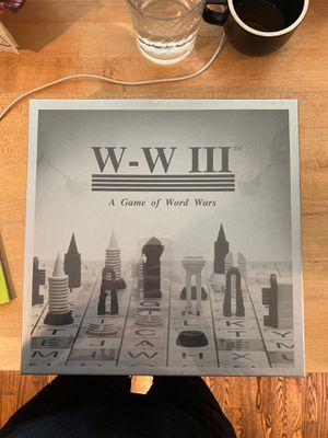 Unique , challenging board game called WW3 for Sale in Kensington, MD