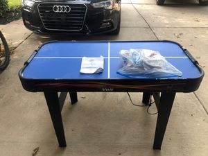 9 in 1 game table (foosball and air hockey) for Sale in Grapevine, TX