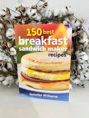 New 150 breakfast sandwich recipe cookbook for Sale in Henderson, NV