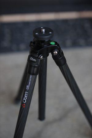 Carbon Fiber Oben Tripod. Works s Manfrotto or Slik heads! for Sale in Beverly Hills, CA