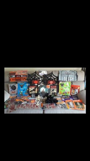 Huge Halloween decorations lot everything for $20 for Sale in Glendora, CA