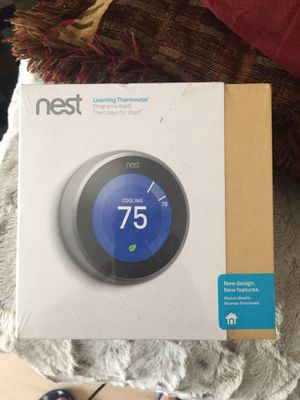 Nest Learning Thermostat**3RD GEN** for Sale in Atlanta, GA